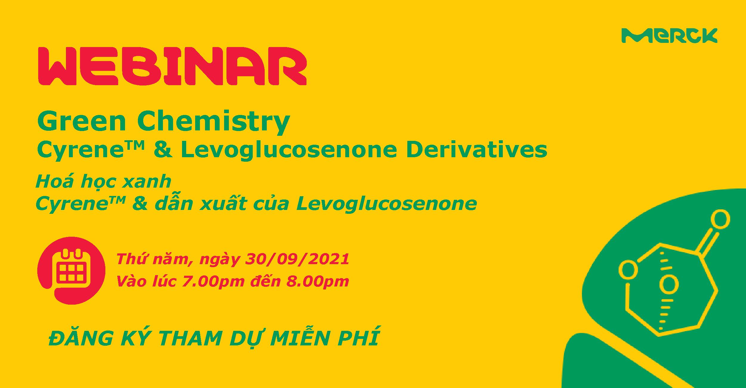 Hoá học xanh – Cyrene và dẫn xuất của Levoglucosenone