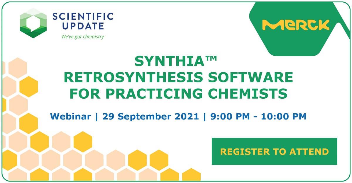 SYNTHIA™ là phần mềm tổng hợp hoá học hiện đại, hỗ trợ quá trình xác định các con đường tổng hợp hoá học ưu thế theo yêu cầu cũng như
